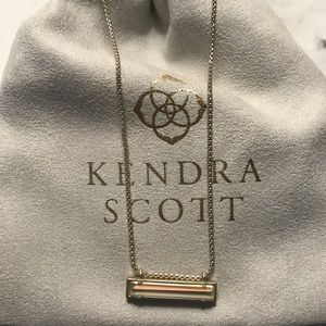 NEW Kendra Scott Leanor Gold Necklace